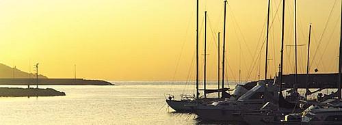 Sanremo: tramonto sul porto vecchioSanremo: the old port at sunset