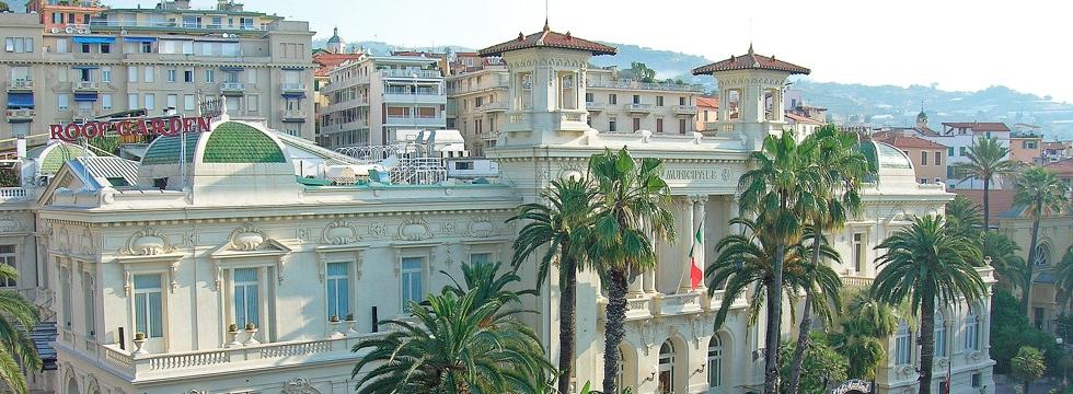 Sala Congressi del Casino di Sanremo